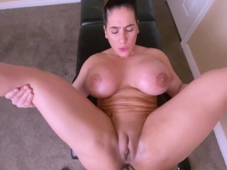 Fiery Young Old mom is Spoiled with a Tongue Massage including a Rough oily Anal sex