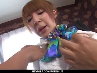Hikaru Shiina loves the taste of sperm on her s
