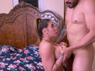 Hot Busty Milf Didn't Count To Get Anal Creampie After Pussy Fuck Session