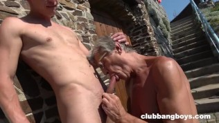 Dirty Old Grandpa Loves Licking Ass Holes