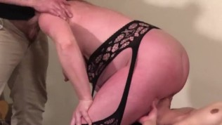 FFM Double BJ Pussyeating Fingering Midwife Anal Pregnant Milf – Part 2