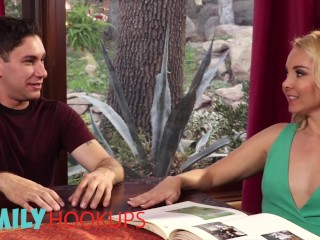 Family Hooukps - Stepmom Aaliyah Love shares step son with Cherie Deville
