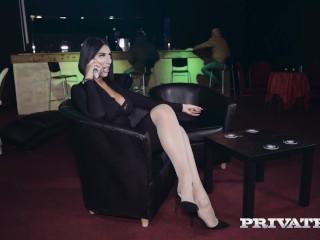 PRIVATE com - Tall 6 Foot 3 Ava Koxxx Gets A Cock & Lots O Cum Mate!