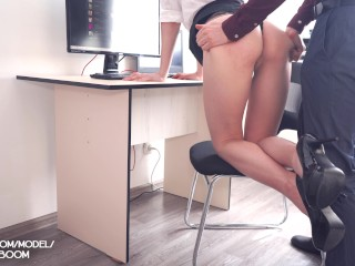 Amateur Sex In Office With Young Secretary Facial Cum 4K Pov KateBoom