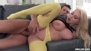 Voluptuous Big Tits MILF Takes A Big Cock In Her Ass After Titty Fucking