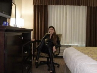 Agent Erin Makes You Cum 3X In The Hotel Room