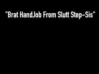 Hot Young Step Sister Kimber Lee Gives Her Horny Perv Bro A Handjob!