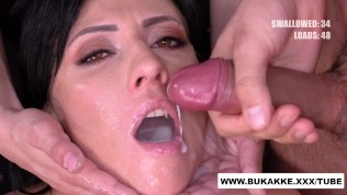 Sherry Vine gives Glory Hole BJ and get's Huge Facial in Bts – Bukkakexxx