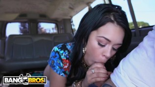 BANGBROS - Cuban Babe Kimmy Kush Getting Dick On The Bang Bus
