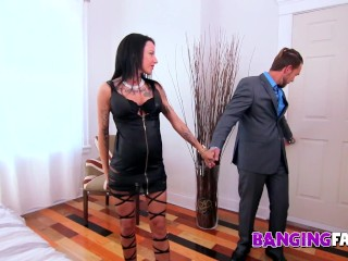 Banging Family - Bad-Ass Tattooed Step-Mom Fucked