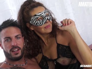 Scambisti Maturi - Kinky Cougar Trying First Time Porn And Gets Ass Fucked