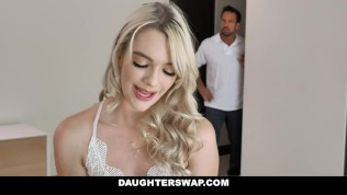 Kinky Step Daughters Fuck Each Other's Dad