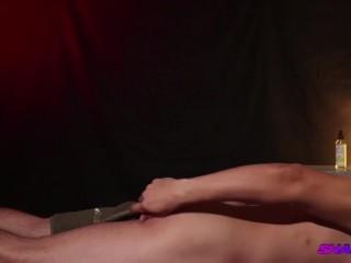 String Bikini and Oil Massage from Sexy Ari