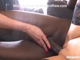 BBC Blindfolded and Fucked