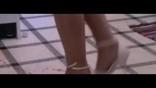 high heel food crushing girls
