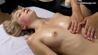 Lizkas Pussy Shaking From Masturbation Massage