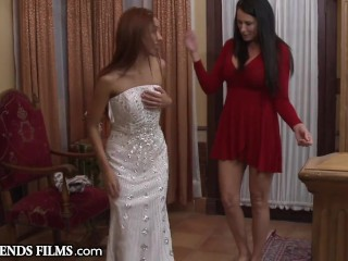 Cute Redhead Teen Virgin Seduced By Older Woman