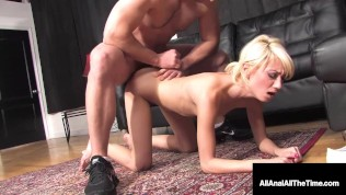 Sweet Young Little Moretta Cox Gets Tiny Ass Double Butt Fucked & Loves It!