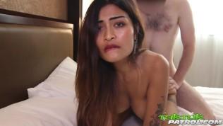 Tuk Tuk Patrol XXX  TUKTUKPATROL Busty Thai Babe Leaking CUM After Pounding