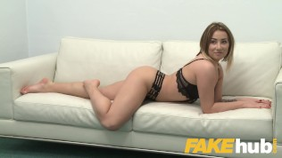 Fake Agent Av Model Gets Her First Taste Of Casting Penis
