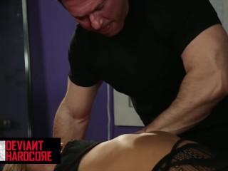 MetroHD - BDSM hard fuck with horny asian blonde Melina Mason