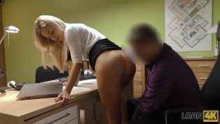 Loan4k. Hot Student Has An Emergency So Why Agrees To Have Sex