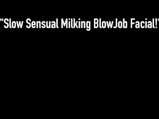 Cute Dick Milker Kimber Lee Sucks Your Hard Cock & Busts Your Lucky Nut!