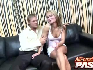 Pussy Licked Jenny Baby Gives Man A Hot Blowjob