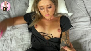 4k – So, you're going to tease me? Blonde Rides Til She Cums