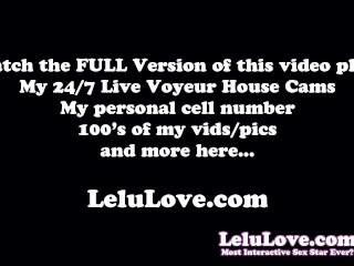Behind the porn scenes of a fun sexy creampie adventure week - Lelu Love