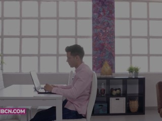 COCK ADDICTION 4K Fucking the head of the office in his office