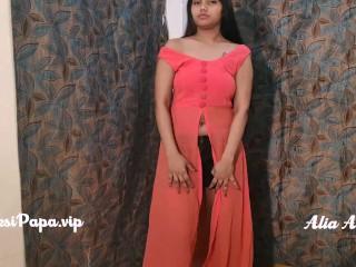 Sexy Indian Model Alia Advani Stripping Porn
