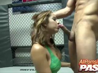 Mma Cage Fucking With Busty Hottie Mulani Rivera