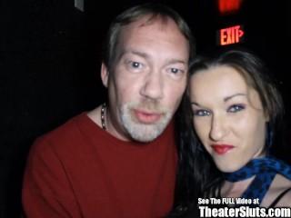 Milk Tits Freckle Slut Gang Bang Porn Theater