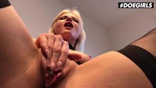 DoeGirls – Kinky Hungary Babe Zazie Skymm Masturbating In Her Sexy Lingerie