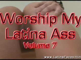 Latina Femdoms Facesitting ass worship smothering ass licking men orgasms