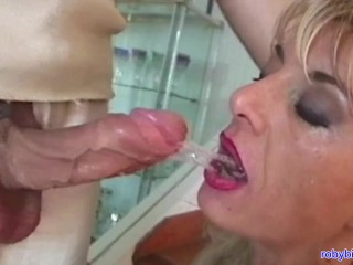 Two cocks to enjoy Francesca Big Clit! Directed by Roby Bianchi