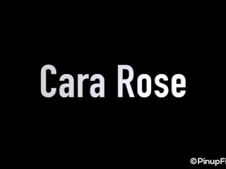 Sexy Cara Rose Teases With Her Hot Body As She Shakes Her Big Boobs