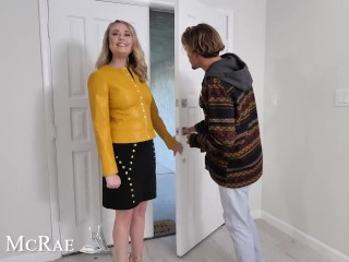 Naughty America - Elle Mcrae Plays With Her Son's Good Friend