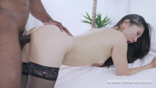 PRIVATE com – Sexy Spanish Asian Katana Fucks & Milks A Big Black Dick!