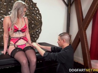 BBC Slut Kay Carter Loves Nothing More Than A DP In Front Of Her Cuckold Husband