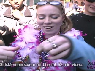 College Girls Bare Awesome Real Boobs At Mardi Gras