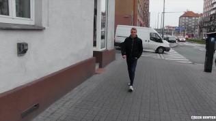 CZECH HUNTER 528 - Czech Hunter Seduces A Straight Male With Money And Fucks His Ass