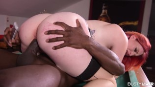 Curvy Lovers Zara Durose Deepthroats And Cowgirl Gives It To Massive Black Cock