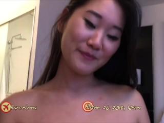 ASIANSEXDIARY Pinay slut twat lips spread open and fucked