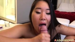Asian Sex Diary XXX  ASIANSEXDIARY Pinay slut twat lips spread open and fucked