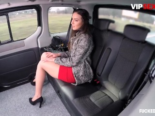 Fucked In Traffic - Nataly Gold Sexy Russian Brunette Sucks A Big Dick Hard In The Car