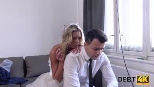 Debt4k. Real Man Has Sex With Busty Hottie With Big Debts