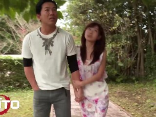 Erito - Amateur Japanese gf gets creampied outdoors