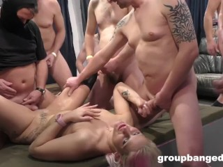 Groupbanged Filthy Prostitute From Hell